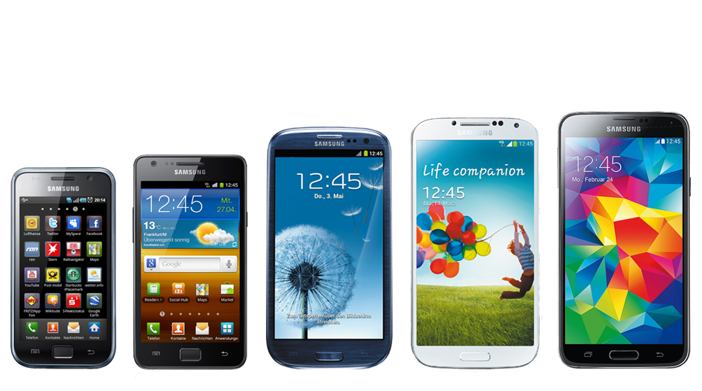 Evolution of the Samsung GALAXY S