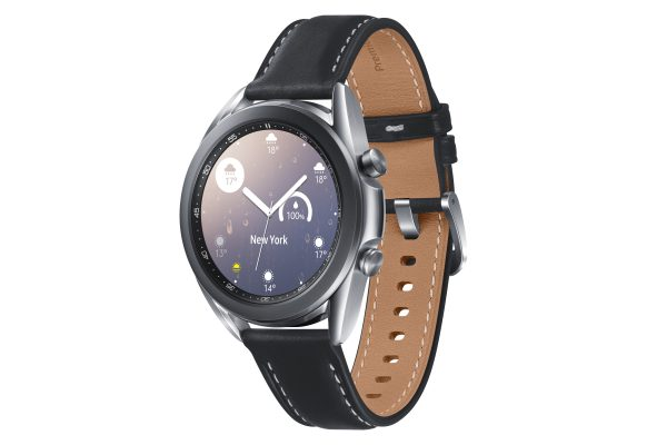 Samsung_Galaxy_Watch3_SM-R850_BT_41mm_Mystic Silver_45_RGB
