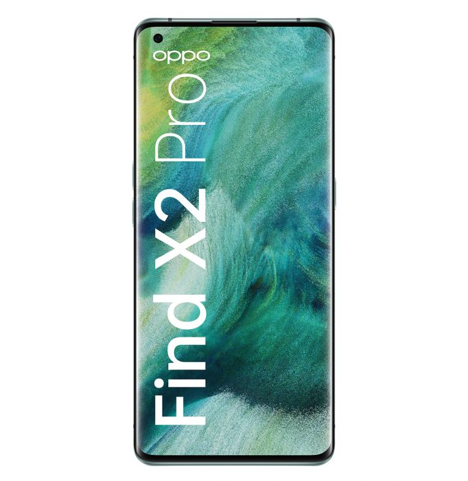 OPPO-Find-X2-Pro-Green-Front-with-logo